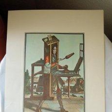 Arte: REPRODUCCION GRABADO PROCEDENTE DE LA GALERÍA APOLLO DE BRUSELAS - OFICIO DE IMPRESOR. Lote 40304521