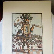 Arte: REPRODUCCION GRABADO PROCEDENTE DE LA GALERÍA APOLLO DE BRUSELAS - OFICIO DE JARDINERO. Lote 40304584