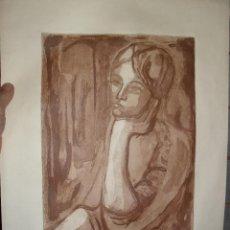 Arte: GRABADO PRUEBA DE ARTISTA DOLORS ESCARDÓ - REUS. Lote 40358952