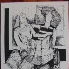 Arte: CARPETA SERIGRÁFICA DEL ARTISTA GALLEGO XAVIER MAGALHAES TITULADA ITINERE, MAPAS Y GRABADOS. Lote 40417068