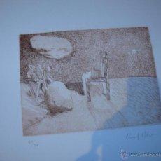 Arte: CARPETA CON TRES GRABADOS - ALBERT LLUCH BLAYA. Lote 40424967