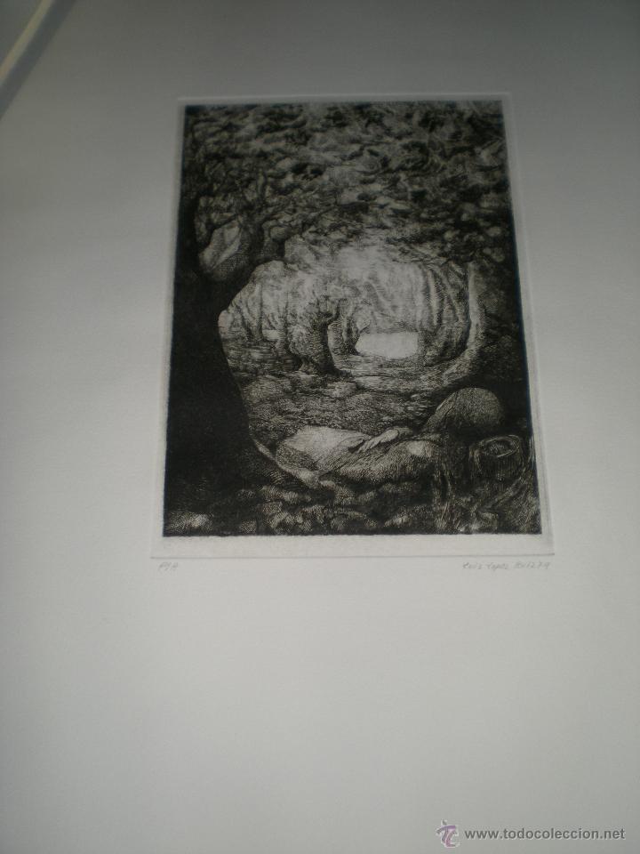 Arte: CARPETA DE 10 AGUAFUERTES DE LUIS LÓPEZ RUIZ. - Foto 3 - 40601419