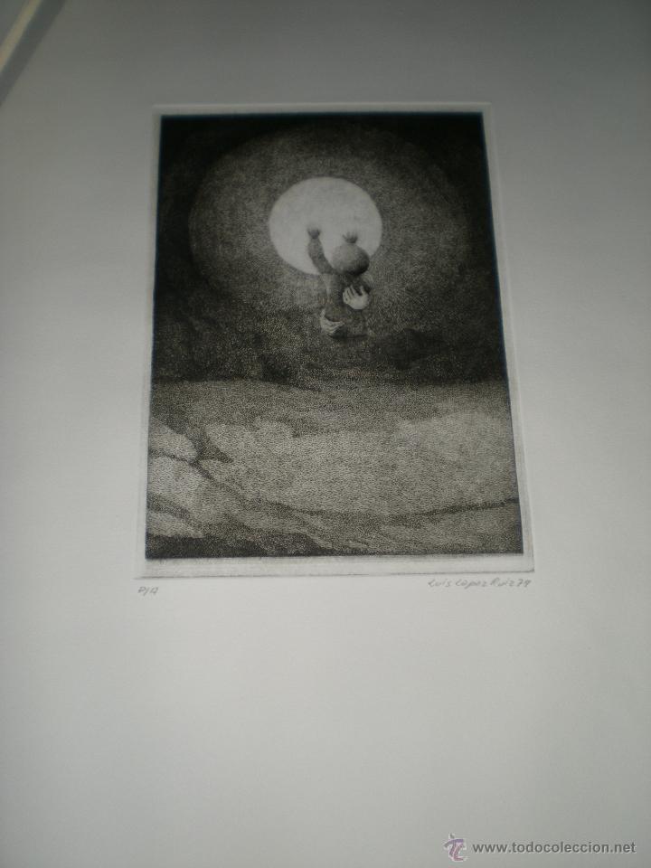 Arte: CARPETA DE 10 AGUAFUERTES DE LUIS LÓPEZ RUIZ. - Foto 5 - 40601419