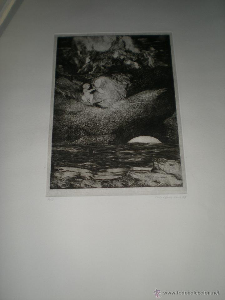 Arte: CARPETA DE 10 AGUAFUERTES DE LUIS LÓPEZ RUIZ. - Foto 6 - 40601419