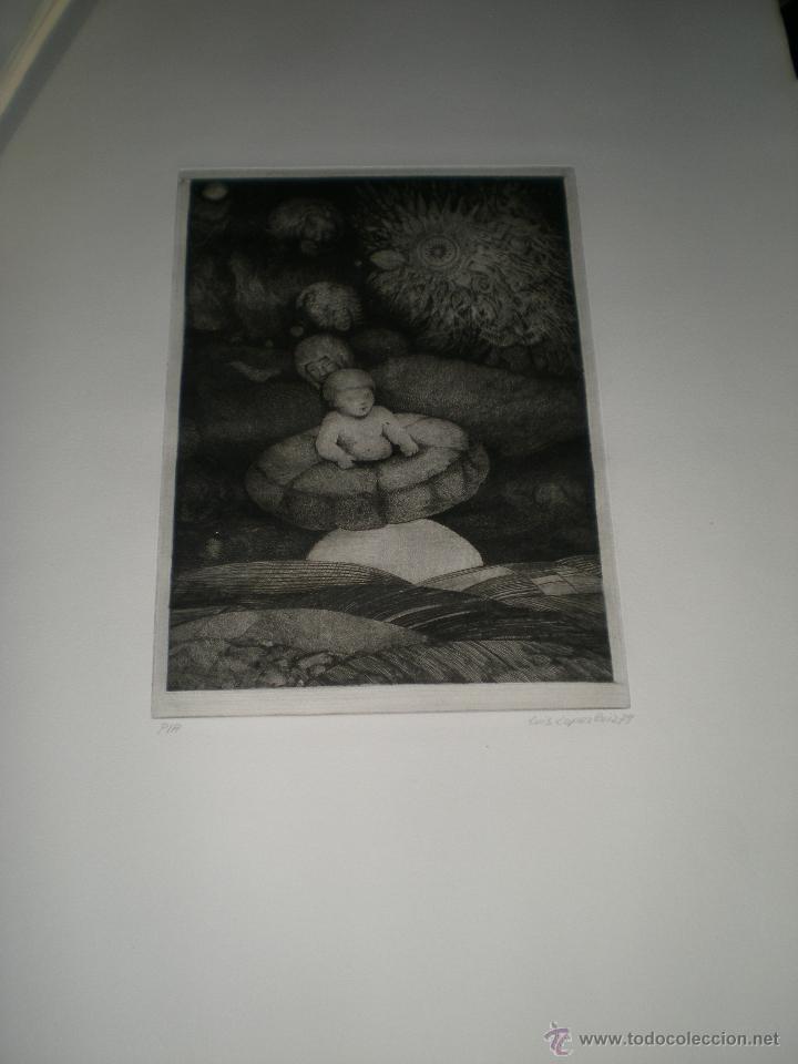 Arte: CARPETA DE 10 AGUAFUERTES DE LUIS LÓPEZ RUIZ. - Foto 8 - 40601419