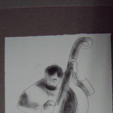 Arte: GRABADO CALCOGRAFICO ANDREU ALFARO -FIRMADO Y NUMERADO. Lote 40635167