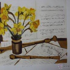 Arte: LITOGRAFIA HERVE GARCIA , FIRMADA Y NUMERADA. Lote 40635740