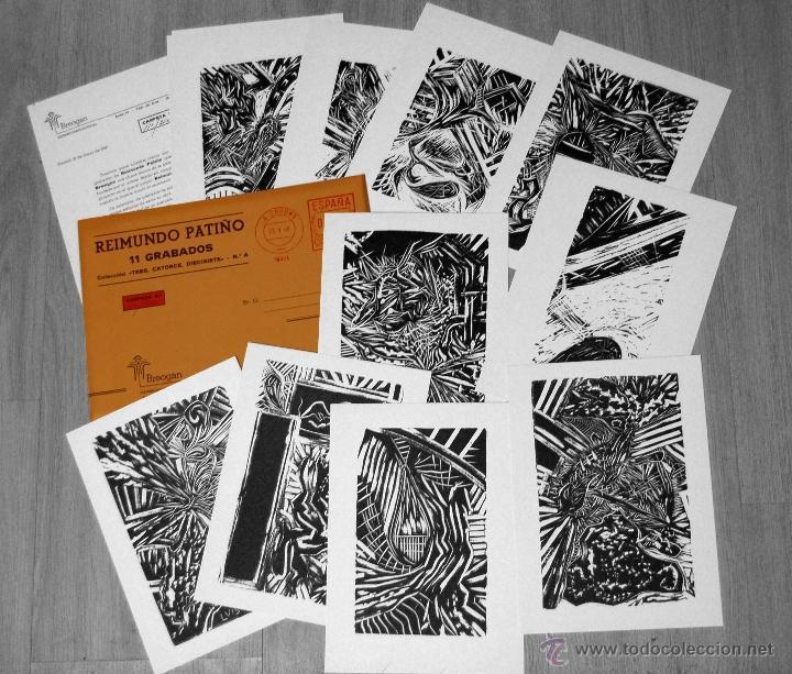 11 GRABADOS - REIMUNDO PATIÑO - 1986 - GRABADO (Arte - Grabados - Contemporáneos siglo XX)