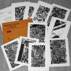 Arte: 11 GRABADOS - REIMUNDO PATIÑO - 1986 - GRABADO. Lote 40649111