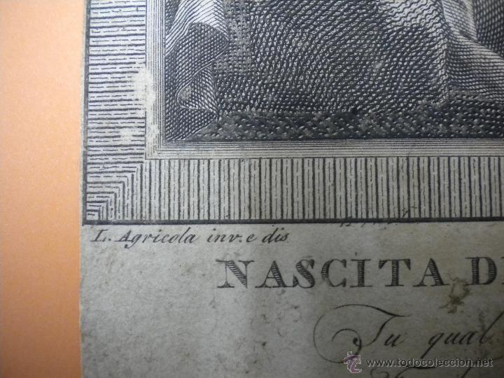 Arte: grabado antiguo 18X18 cm - Foto 2 - 40697508