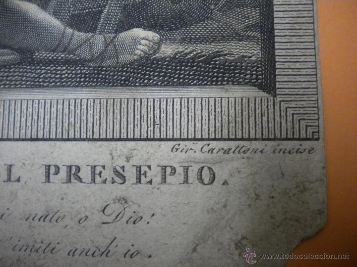 Arte: grabado antiguo 18X18 cm - Foto 3 - 40697508