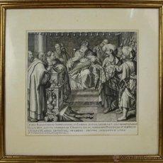 Arte: J2-007 GRABADO 'GRAECI ROMANORUM IMPERATORIS(...)' POR EL GRABADOR CARL GUSTAV AMLING 1699. Lote 40919028