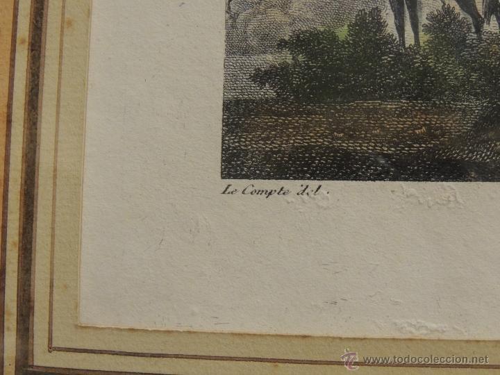 Arte: GRABADO ANTIGUO DEL BOMBARDEO DE MADRID EL 4 DE DIC 1808 - Foto 4 - 41030648