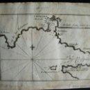Arte: 1817-MAPA, PLANO CARTA NAÚTICA DEL PUERTO DE CARTAGENA. MURCIA. Lote 41031463