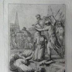 Arte: MARTIRES DE GERONA VICENTE ORONCIO Y VICTOR. Lote 41032078