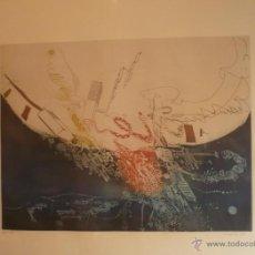 Arte: ANTONIO LORENZO.GRABADO NUMERADO Y FIRMADO A COLOR. Lote 41040050