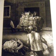 Arte: GRABADO ANTONIO ZARCO Nº 5 SERIE RUINA Y OLVIDO 1979. Lote 41274230