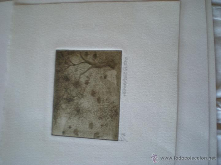 HERNANDEZ QUERO (Arte - Grabados - Contemporáneos siglo XX)