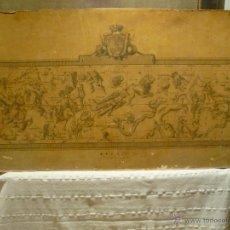 Arte: MAPA DE LAS CONSTELACIONES GRABADO POR TOMAS LOPEZ ENGUIDANOS EN 1793. Lote 41395699