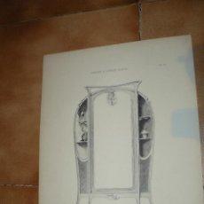 Arte: GRABADO - HELIO. FORTIER & MAROTTE - CHAMBRE A COUCHER - ARMOIRE. Lote 41571947