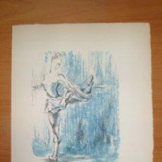 Arte: BAILARINA DE BALLET, 1946, FRANCOIS BARETTE. Lote 42330387
