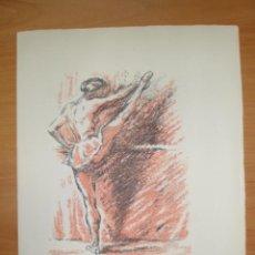 Arte: BAILARINA DE DANZA, 1946, FRANCOIS BARETTE. Lote 42330521
