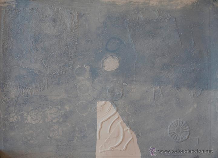 CLAVE, A. (1913-2005). MAGNIFICO CARBORUNDUM CON GOFRADO. NUMERADO (73/75). FIRMADO. 1970. (Arte - Grabados - Contemporáneos siglo XX)
