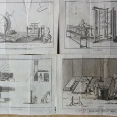Arte: 23 GRABADOS SIGLO XVIII TELARES. Lote 42614203