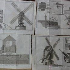 Arte: 10 GRABADOS DE MOLINOS. Lote 42614393