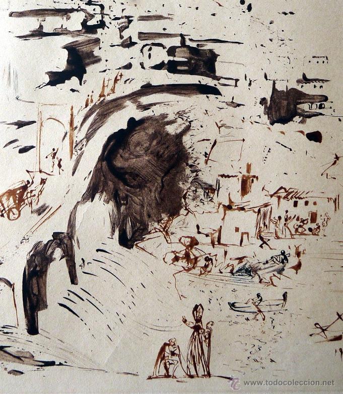 Arte: DALI, S. (1904-1989). TOLEDO. FIRMADO, FECHADO Y NUMERADO (29/100). AF 64-2B. ML 98. - Foto 2 - 42778012