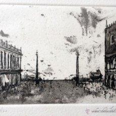Arte: VENECIA, GRABADO DE LUIS GARCÍA OCHOA (AÑOS 80). Lote 42803389