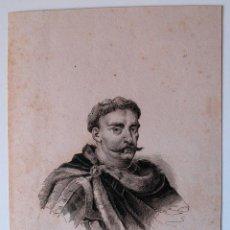 Arte: GRABADO ANTIGUO DE JUAN III SOBIESKI . Lote 42809986