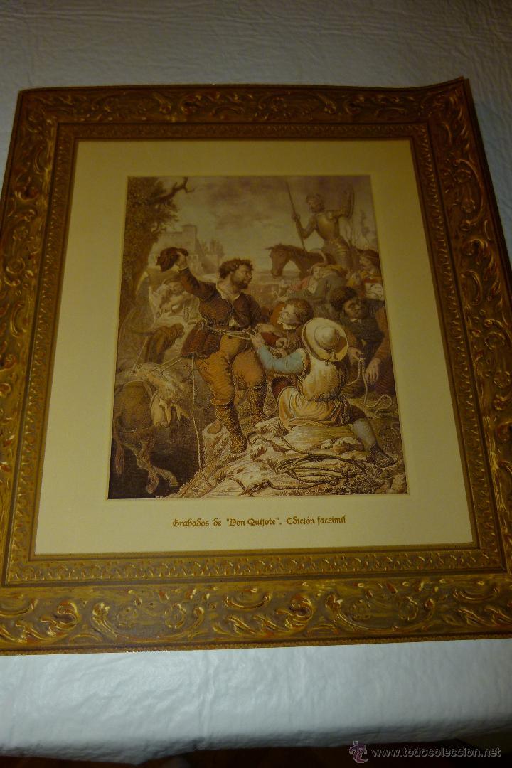 CARPETA DE GRABADOS DE DON QUIJOTE, EDICIÓN FACSÍMIL. EDICIONES RUEDA. (Arte - Grabados - Contemporáneos siglo XX)