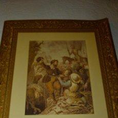 Arte: CARPETA DE GRABADOS DE DON QUIJOTE, EDICIÓN FACSÍMIL. EDICIONES RUEDA.. Lote 42854070
