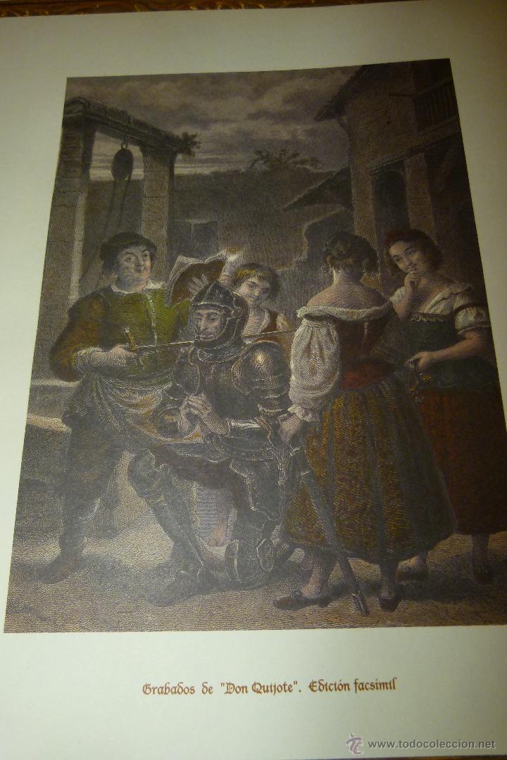 Arte: CARPETA DE GRABADOS DE DON QUIJOTE, EDICIÓN FACSÍMIL. EDICIONES RUEDA. - Foto 2 - 42854070