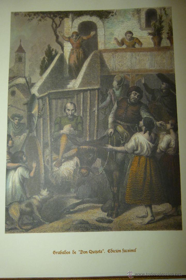 Arte: CARPETA DE GRABADOS DE DON QUIJOTE, EDICIÓN FACSÍMIL. EDICIONES RUEDA. - Foto 4 - 42854070