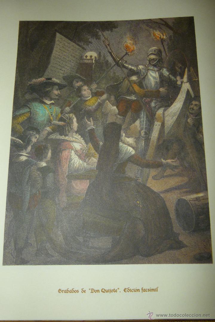Arte: CARPETA DE GRABADOS DE DON QUIJOTE, EDICIÓN FACSÍMIL. EDICIONES RUEDA. - Foto 6 - 42854070