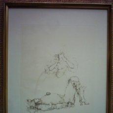 Arte: LEONOR FINI (1908-1996). GRABADO. 50 X 38 CM. FIRMADO A LÁPIZ. NUMERADO: 65/200.. Lote 43026384