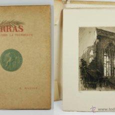 Arte: ARRAS APRÈS LA TOURMENTE, 12 AGUAFUERTES. A. MAYER. 1918. IMPR. A. VERNANT ET DOLLE, PARÍS EX NUM 48. Lote 43067296