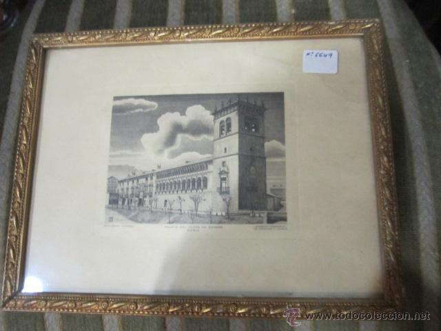 pequeño grabado - palacio del conde de gomara - - Comprar Grabados ...