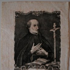 Arte: MUY ANTIGUO GRABADO DEL P. FERNDINANDUS ZUCCONI, SOCIET. JESU. Lote 43095626