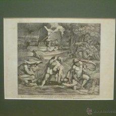 Arte: EL ARCA DE NOE. NICOLAS CHAPERON (1612-1656). SIGLO XVII.. Lote 43100348