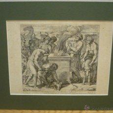 Arte: EL SACRIFICIO DE NOE. NICOLAS CHAPERON (1612-1656), SIGLO XVII.. Lote 43153012