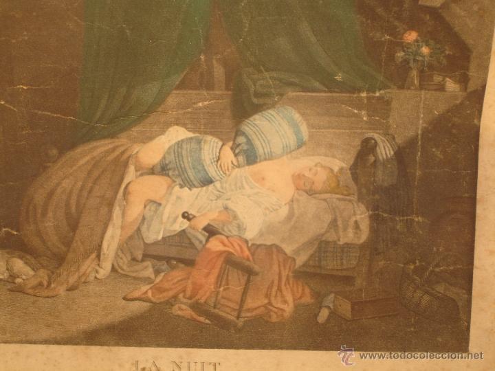 REGNAULT NICOLAS FRANCOIS( LA NUIT) 1746-1810 (Arte - Grabados - Antiguos hasta el siglo XVIII)