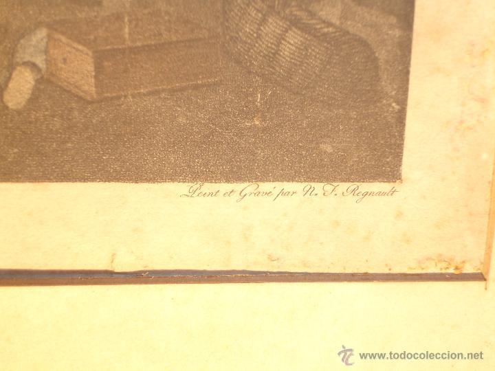Arte: REGNAULT NICOLAS FRANCOIS( LA NUIT) 1746-1810 - Foto 2 - 43243069
