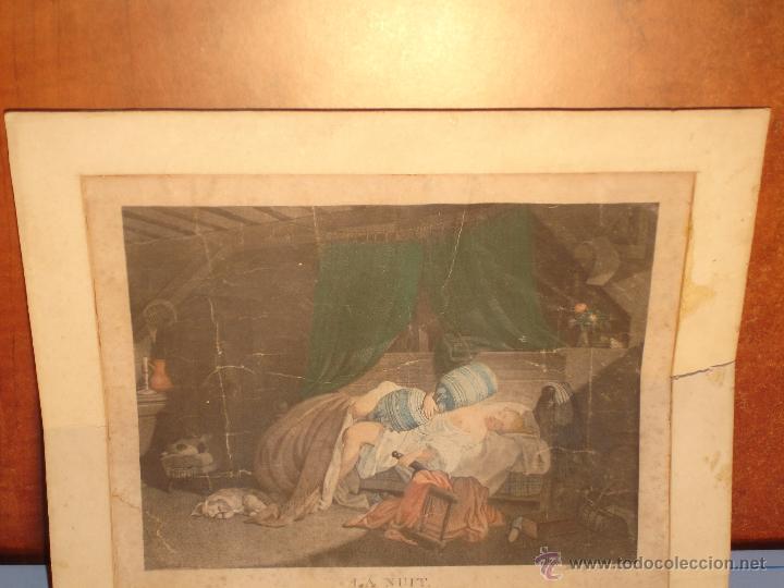 Arte: REGNAULT NICOLAS FRANCOIS( LA NUIT) 1746-1810 - Foto 4 - 43243069