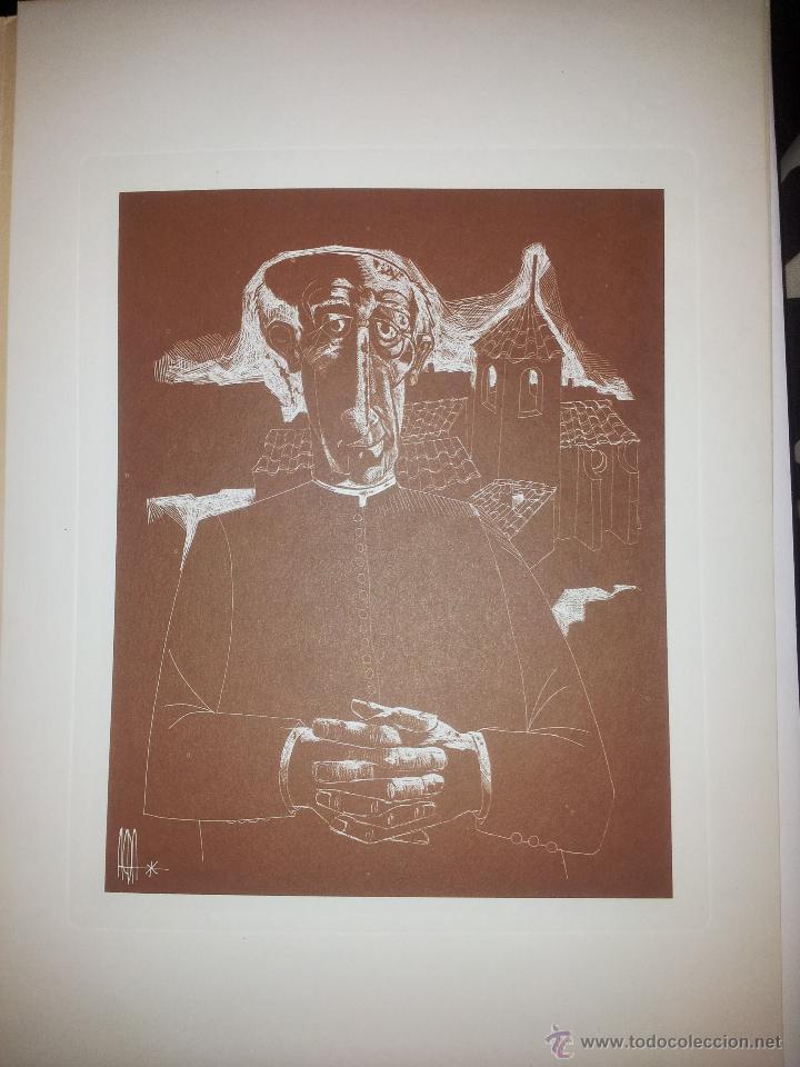 CARPETA CON SEIS GRABADOS DEL PINTOR JUAN ANTONIO ALDA (Arte - Grabados - Contemporáneos siglo XX)