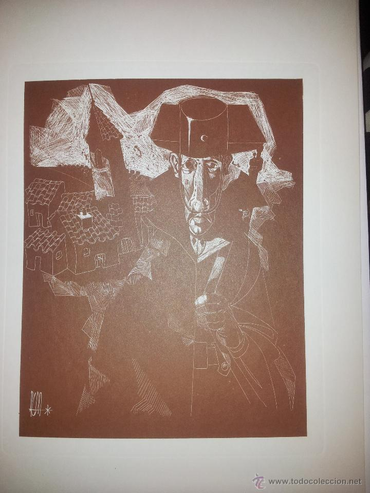 Arte: Carpeta con seis grabados del pintor Juan Antonio Alda - Foto 2 - 43268603