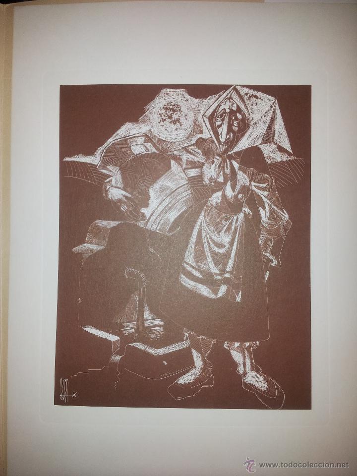 Arte: Carpeta con seis grabados del pintor Juan Antonio Alda - Foto 3 - 43268603