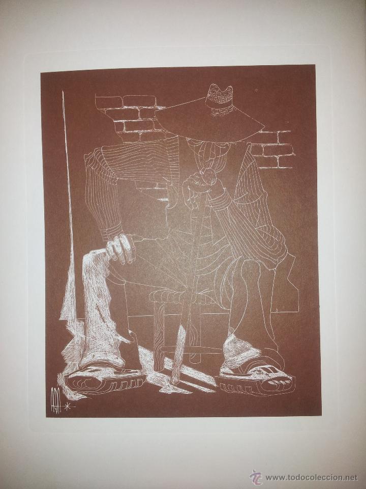 Arte: Carpeta con seis grabados del pintor Juan Antonio Alda - Foto 5 - 43268603